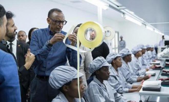 Afrika'nın ilk akıllı telefon fabrikası kuruldu