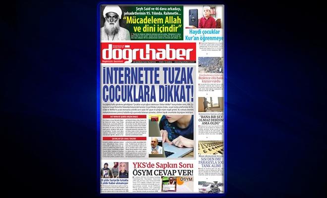 İNTERNETTE TUZAK  ÇOCUKLARA DİKKAT!