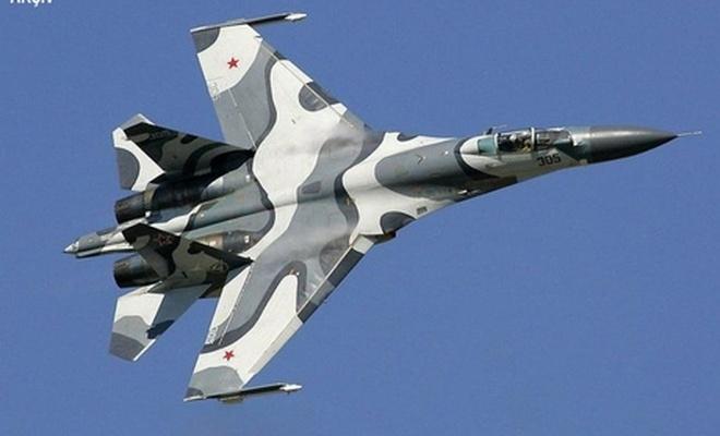 Karadeniz'de Rus SU-27 savaş uçağı düştü