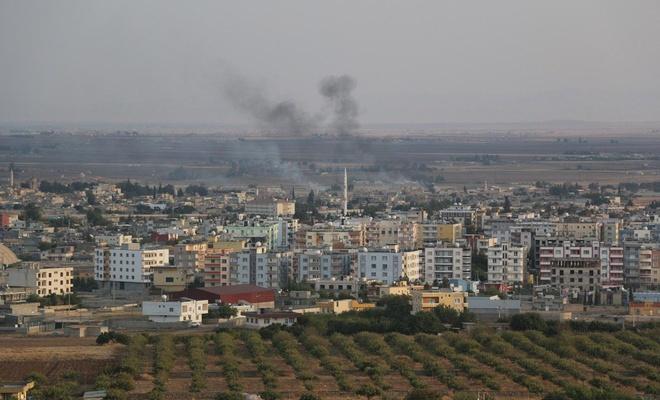 Resulayn'ın doğusundaki PKK/PYD-YPG hedefleri vuruluyor