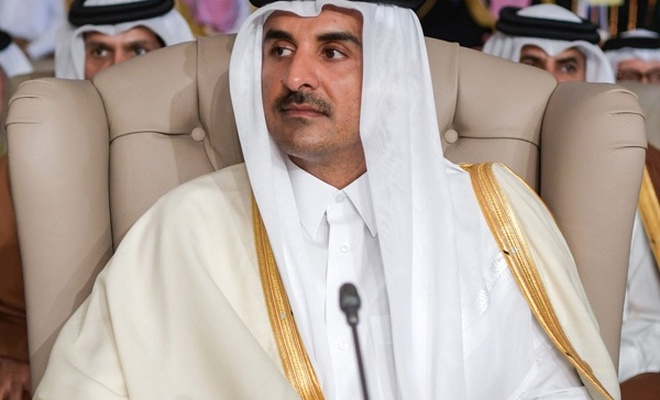 Katar Emiri Al Sani, Hamas heyetiyle görüştü