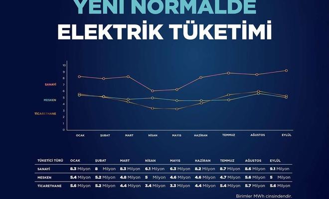 Bakan Dönmez elektrik tüketim değerlerini paylaştı