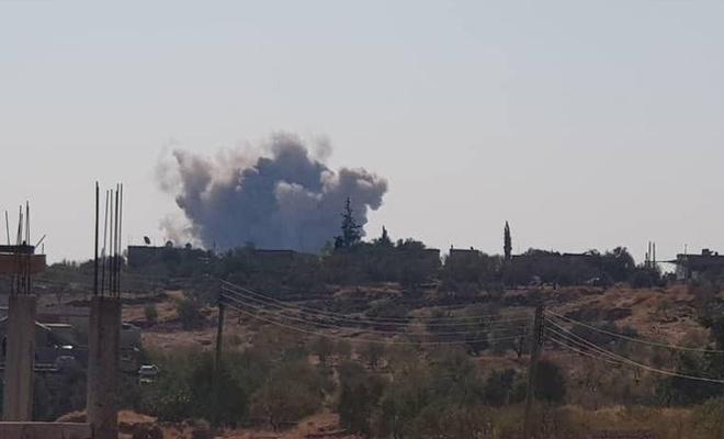 İdlib'de TSK'ye ait noktaya saldırı