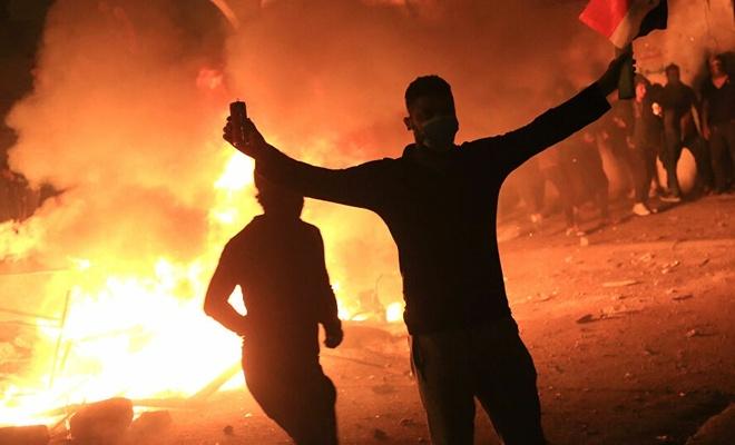 Bağdat'ta, gösteriler yeniden alevlendi: 2 ölü