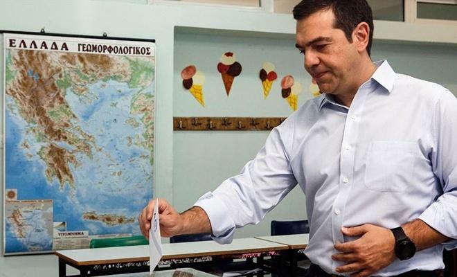 Yunanistan, bugün sandık başında