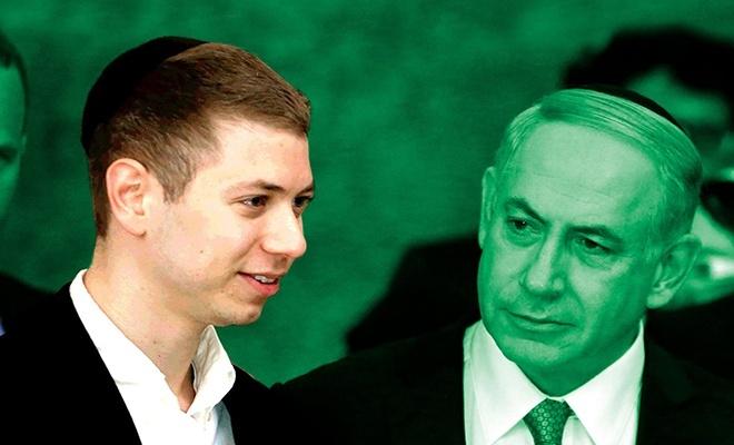 Netanyahu'nun oğlu kimin evladı olduğunu ispatlıyor!