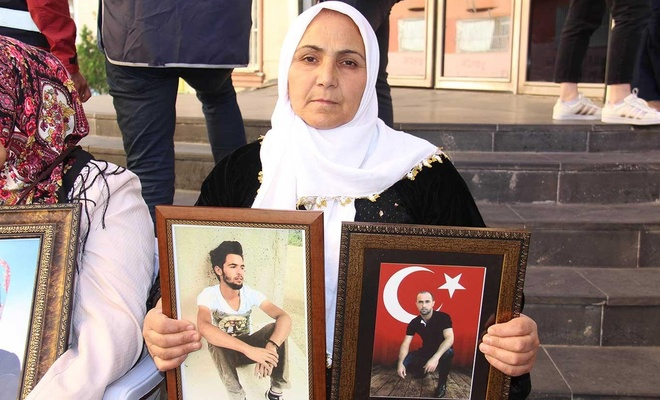 Bir evladı PKK tarafından öldürüldü diğeri ise kaçırıldı