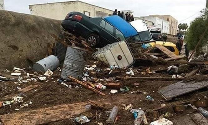 Tunus`ta sel felaketi: 5 ölü, 2 kayıp!
