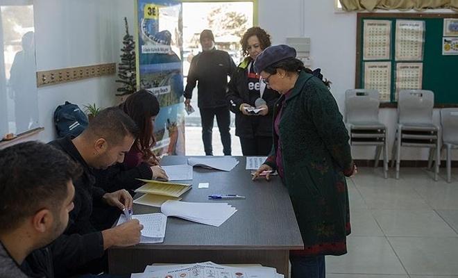 KKTC'de sandıklar kapandı, oy sayma işlemi başladı