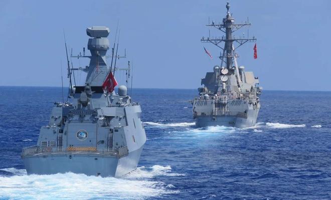 MSB: ABD ile Doğu Akdeniz'de tatbikat gerçekleştirildi
