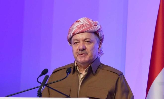 Mesud Barzani: Kalplerimiz Filistin'le birlikte