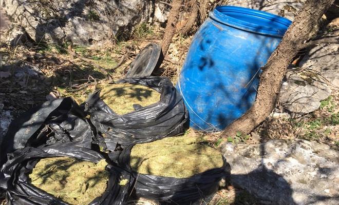 5 tonluk uyuşturucu madde yakalandı