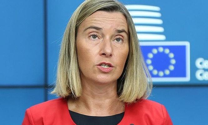 Mogherini`den Avrupa ordusuyla ilgili açıklama