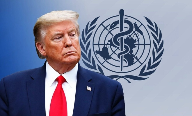 Dünya Sağlık Örgütü'nden Trump'a cevap