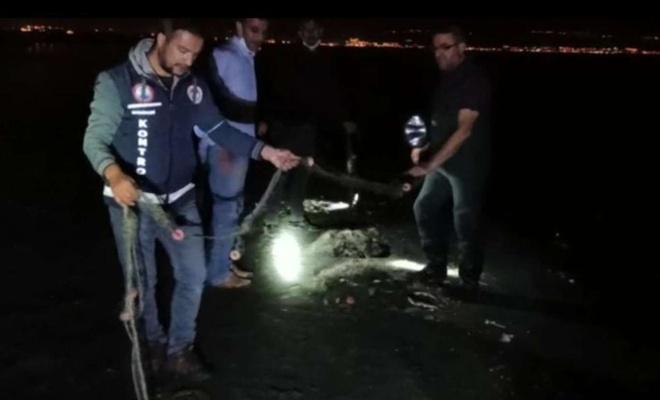 Kaçak balık avına 17 bin TL ceza!