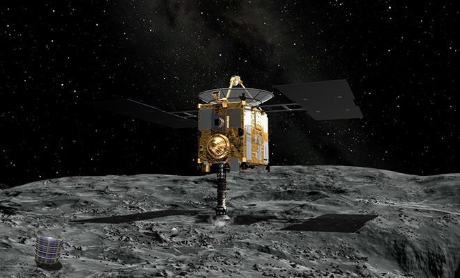 Japon uzay aracından asteroitte su keşfi