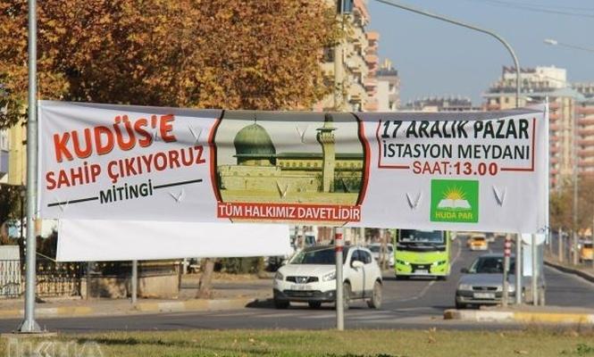 Mîtînga Em li Qudsê xwedî derdikevin li Diyarbekirê îro tê tertîpkirin