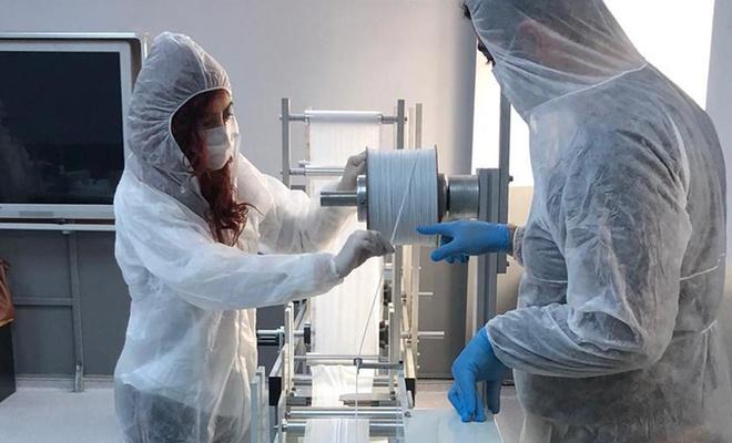 Ultrasonik cerrahi maske makinesi üretimine başlandı