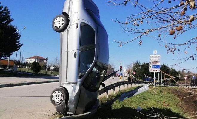 Kocaeli'de akılalmaz kaza