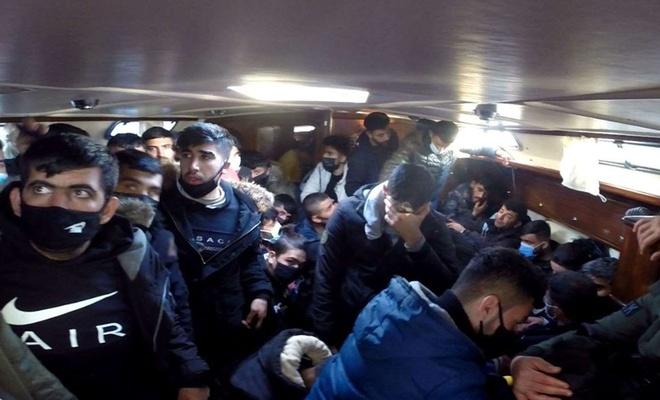 Sahil Güvenlik Komutanlığı: 117 düzensiz göçmen kurtarıldı