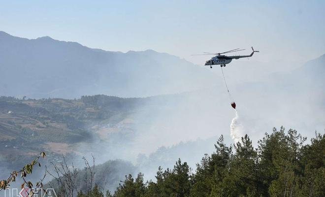 """Bakan Pakdemirli: """"107 orman yangınından 98'i kontrol altına alındı"""""""