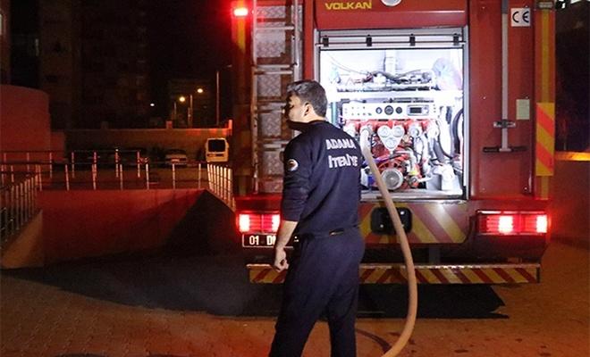 Adana`da ev yangını
