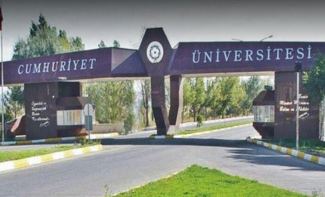 Sivas Cumhuriyet Üniversitesi  personel alacak