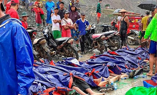 Meydana gelen heyelanda 113 madenci öldü