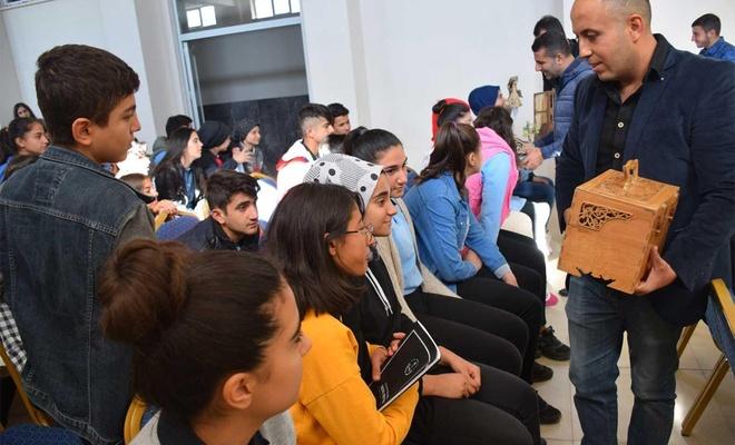 El Sanatları Ustası öğrencilerle buluştu