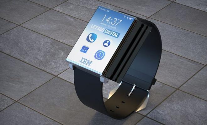 IBM'den tablete dönüşebilen akıllı saat!