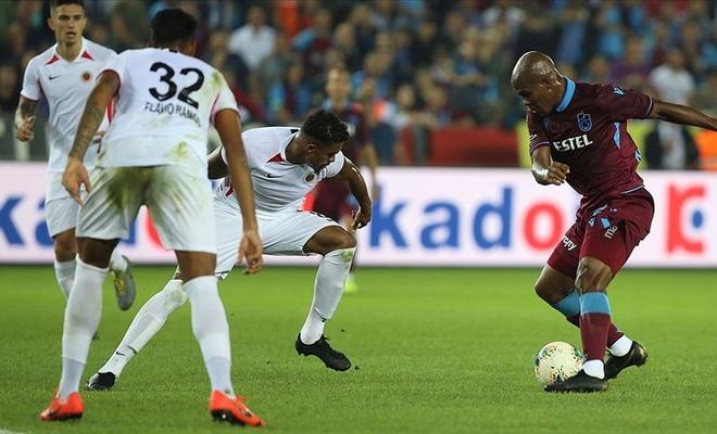 Trabzonspor sahasında iki puan kaybetti