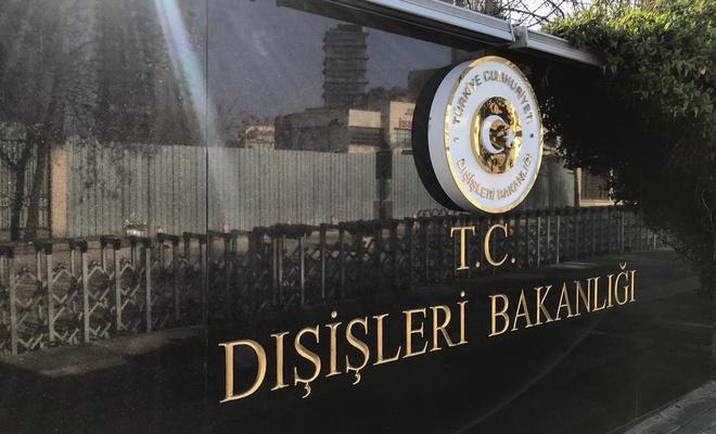 Türkiye'den işgalci çeteye tepki