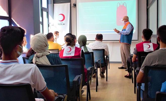 """Şırnak'ta """"Afet Farkındalık Eğitimi"""" verildi"""