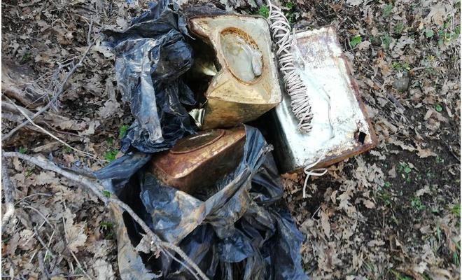 Bitlis kırsalında ele geçirilen 105 kilogram patlayıcı imha edildi