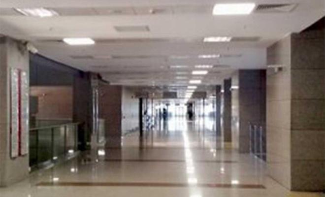 Coronavirus tedbirleri kapsamında adliye binaları boş kaldı