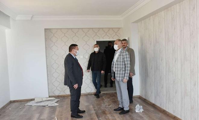 Yangında evleri kullanılmaz hale gelen Gülpınar ailesinin evi onarıldı