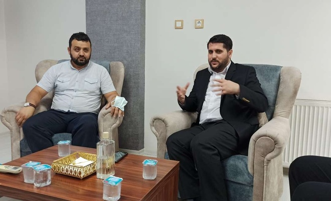 Kur'an kursu öğreticilerinden HÜDA PAR'a ziyaret