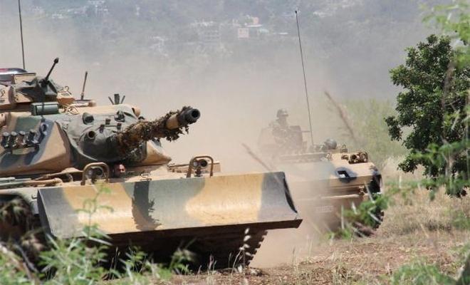 Burseya Dağı`nda çatışmalar devam ediyor