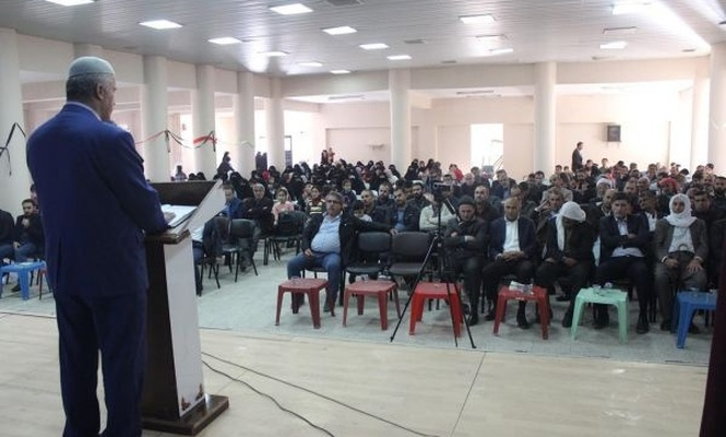 Cizre`de İlmin Kapısı Hazreti Ali etkinliği düzenlendi