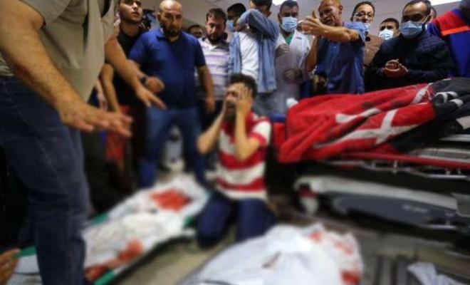 Gazze'de şehid sayısı 133 yaralı sayısı 950'ye yükseldi