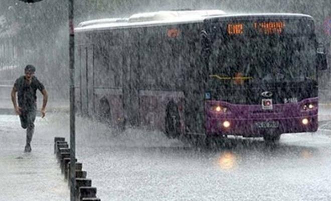 Meteoroloji`den Marmara için son dakika uyarısı