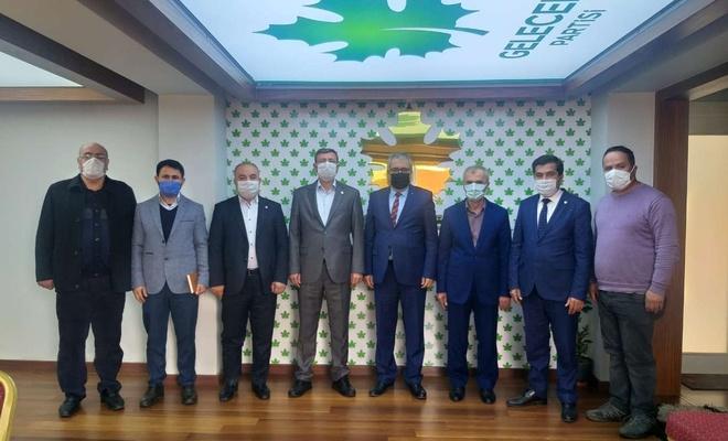 HÜDA PAR Antalya İl Başkan'ından Gelecek Partisine ziyaret