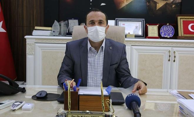 Şanlıurfa İl Sağlık Müdürü Erkuş'tan rehavete kapılmayın çağrısı