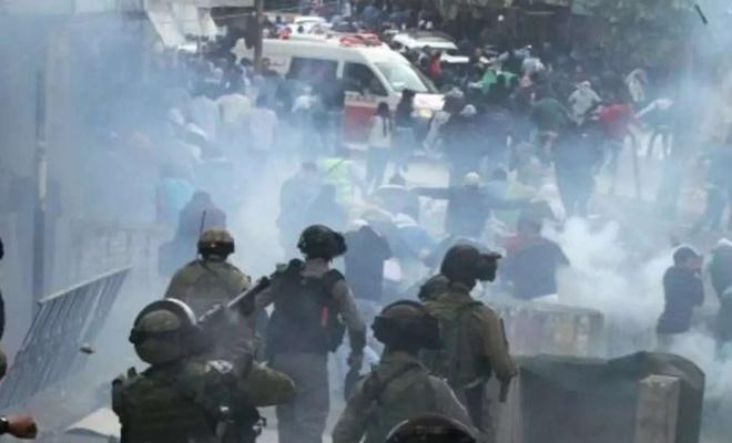 حمله اشغالگران صهیونیستی به فلسطینی ها در کرانه باختری: 13 نفر زخمی شدند