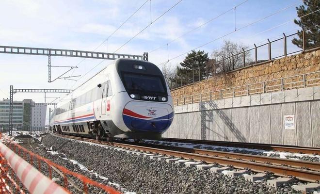 Yüksek Hızlı Tren Sivas'a ulaştı