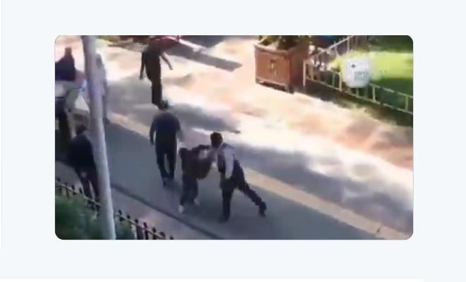 Kâğıt toplayan çocuğa tokat atan şahıs gözaltına alındı