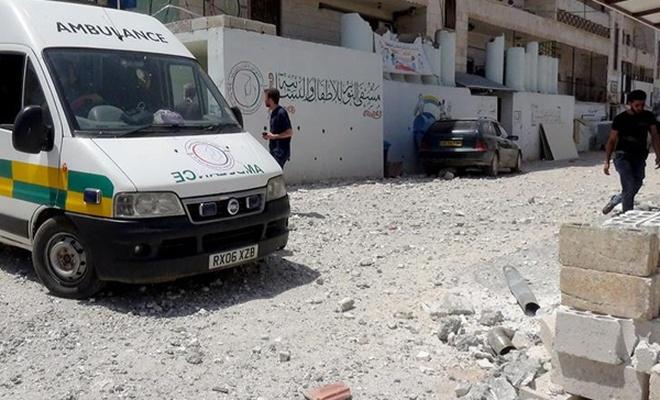 İdlib`de Baas rejiminin hava saldırıları devam ediyor