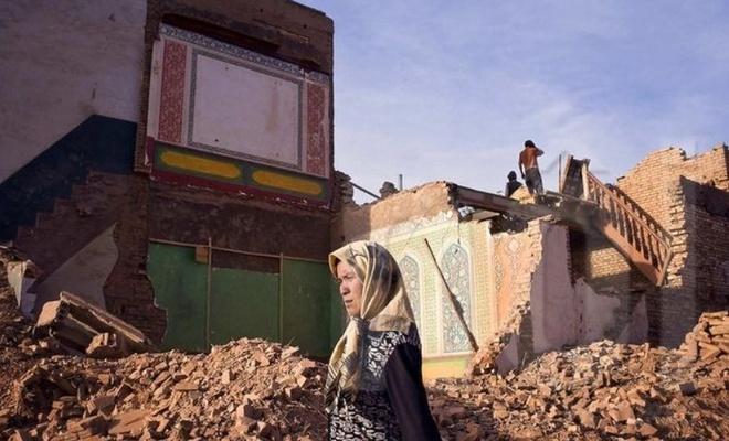 Son 3 yılda Doğu Türkistan'da binlerce cami yıkıldı
