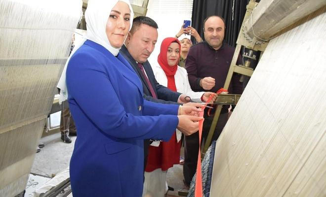 Diyarbakır'ın Bağlar ilçesinde halı atölyesi açıldı
