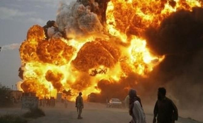Afganistan'da patlama: Ölüler var